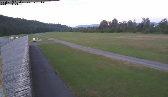 Amlikon Flugplatz LSPA Westen